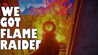 WE GOT FLAME RAIDED! - RUST Co-op Gameplay