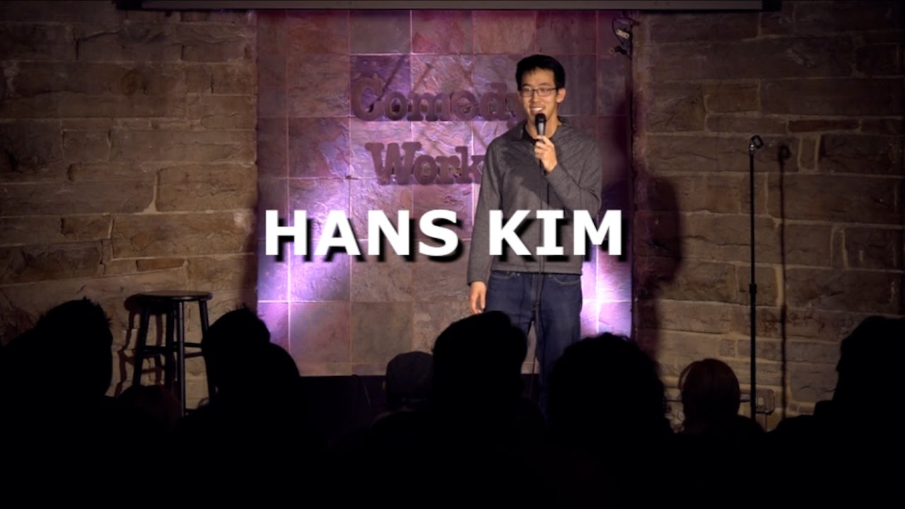 Hans Kim - Being Asian - Comedy Works