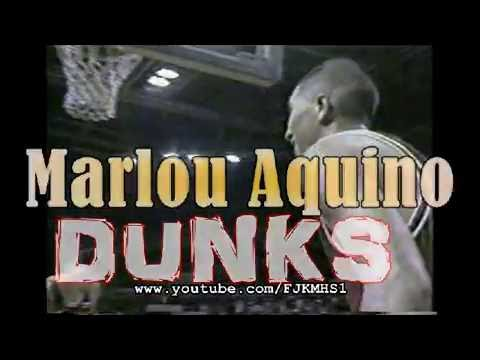 Marlou Aquino BEST Slam Dunks in PBA
