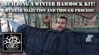 Building a Winter Hammock Kit! My Gear Selection and Thought Process!