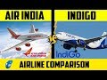 Air India VS Indigo | Airline Comparison | (हिंदी) | Placify 2019