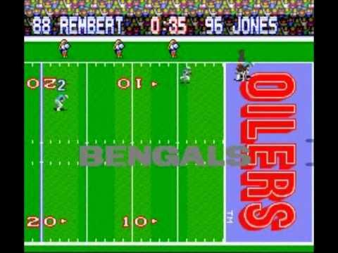Tecmo Super Bowl (SNES) - Cincinnati Bengals - Week 8