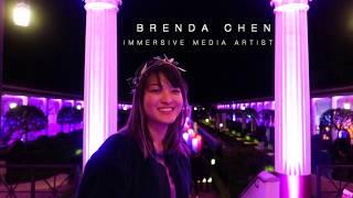 Getty Museum Projection Mapping by Brenda Chen
