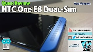 Review HTC One E8 Blue (Asia Version) - Indonesia [GontaGantiHape.com]