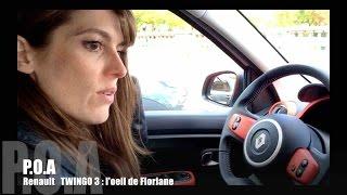 Nouvelle Renault Twingo 3 2014 : l'oeil de Floriane (1/2)