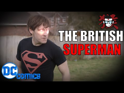 The British Superman | DC Comics | The Office Meets Man Of Steel