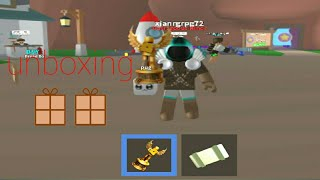Roblox:mining simulator unboxing crates
