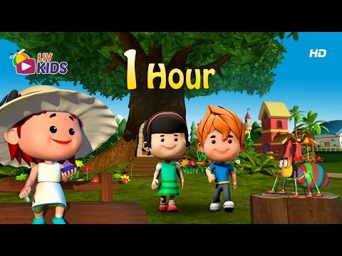 Non Stop English Nursery Rhymes | 1 Hour Special | LIV Kids Nursery Rhymes And Songs
