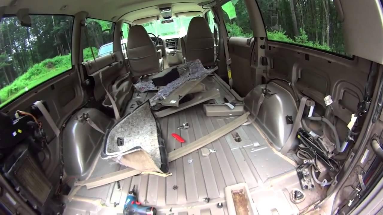 Astro Van Camper Conversion Vandwelling Part 3
