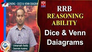 T - SAT -  RRB - REASONING ABILITY    Dice & Venn Daiagrams      Amarnath Reddy