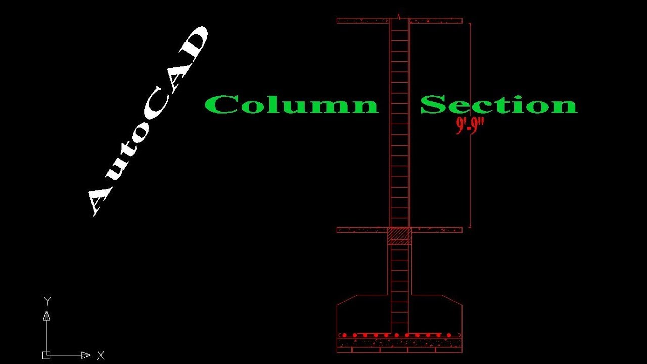 how to draw distillation column using autocad