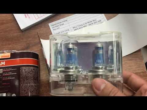 Bóng đèn H4 siêu sáng 12 V , 24 V OSRAM GERMAN LIGHTING 110%