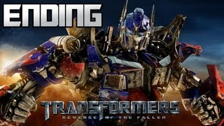Transformers Revenge Of The Fallen - Autobot Campaign - Part 20 - Final Boss The Fallen & Ending!