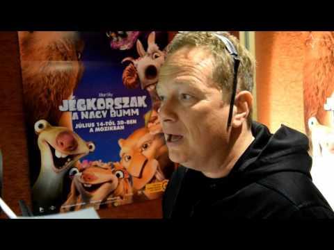 EXKLUZÍV: Geszti Péter így szinkronizálja Sid-et a Jégkorszakban