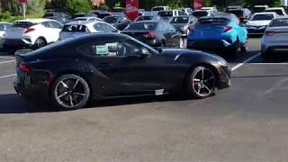 Unveiling of the 2020 Toyota GR Supra at Heffner Toyota