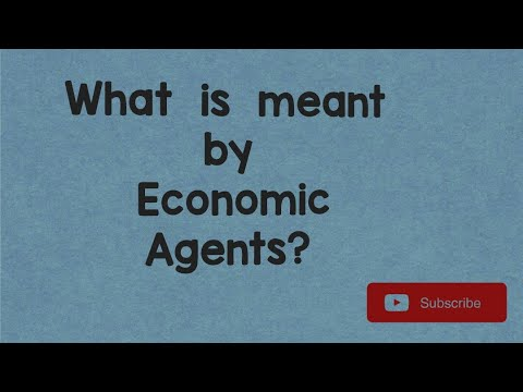 Economic Agents| Economics concept| Concepts on Tips