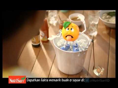 Iklan NutriSari versi Melt (2014) - YouTube