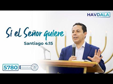 Havdala Jukat 5780 - Si el Señor quiere