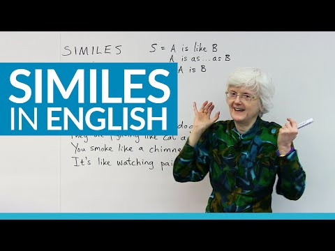Using SIMILES to improve your everyday English