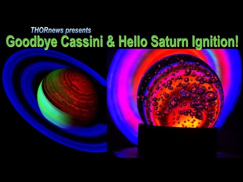 Goodbye NASA's Cassini Spacecraft & Hello nuclear Saturn Ignition!