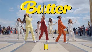 Download lagu [KPOP IN PUBLIC FRANCE | ONE TAKE] BTS (방탄소년단) - BUTTER Dance Cover by Outsider Fam (GIRLS VERSION)