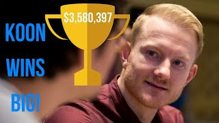 Jason Koon Takes $3.6m for the Short Deck Triton Event