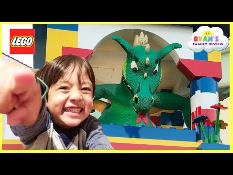 Thumbnail: LEGOLAND HOTEL TOUR! Amusement Park Family Fun Lego Toys for Kids play Area Children Activities