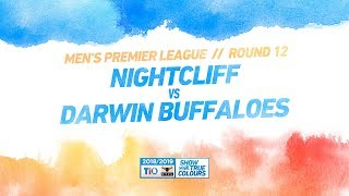 Nightcliff vs Darwin Buffaloes: Round 12 - Men