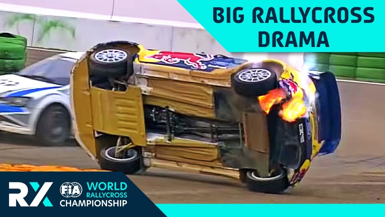 Dramatic Moments in World RX ❕| Part 2 | FIA World Rallycross