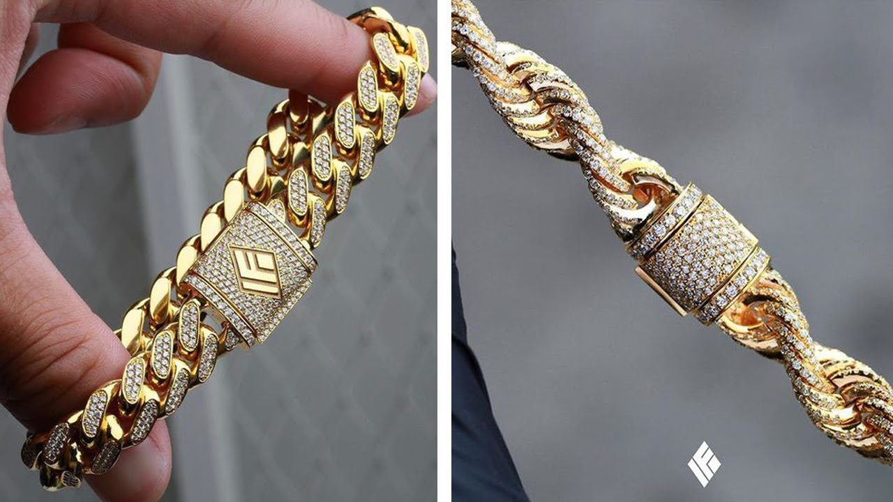 Top 10 Latest Gold Bracelet Design For Men Hand Bracelets Wedding