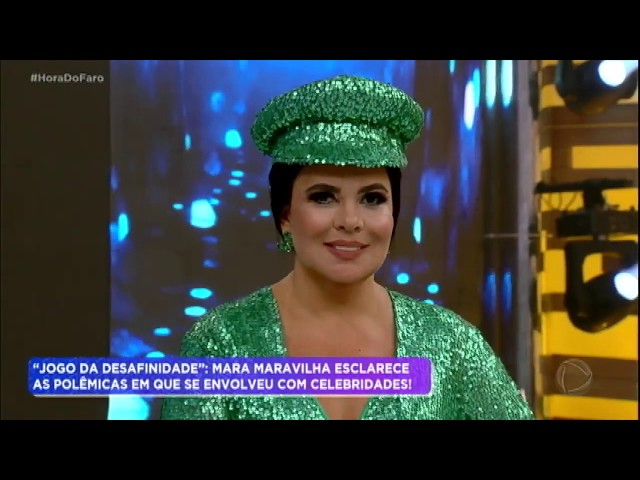 Mara Maravilha esclarece polêmicas no Jogo da Desafinidade