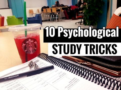 10 Psychological Study Tricks to Boost Brain Power // Study Less Study Smart