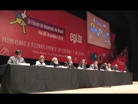 [VI Fórum da Internet no Brasil] Mesa de Abertura