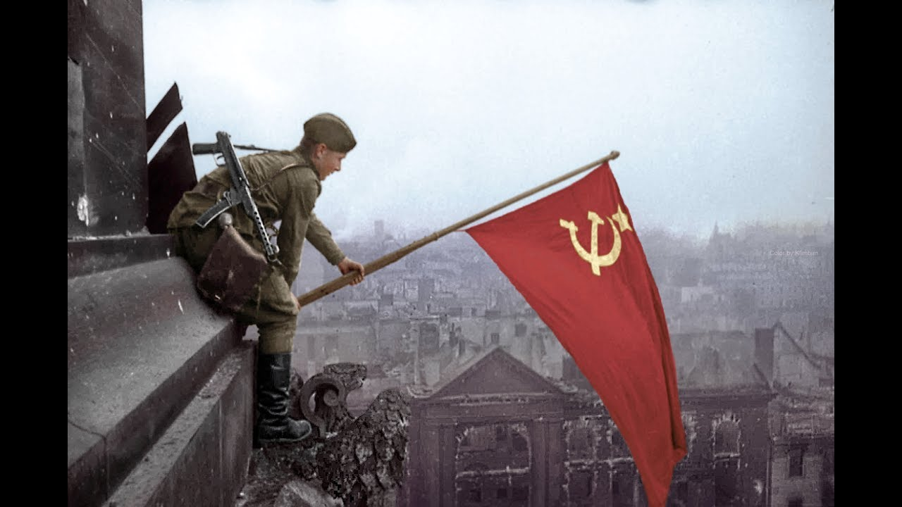 Free Fall Color Wallpaper Battle Of Berlin Real Footage 1945 Hd Youtube
