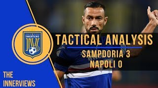 Sampdoria vs Napoli 3-0 | Tactical Analysis | How Sampdoria's Pressing UPSET Ancelotti's Napoli