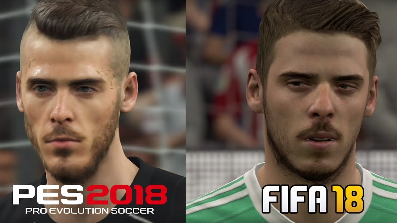 FIFA 18 vs PES 18 – Head To Head To Graphics Comparison