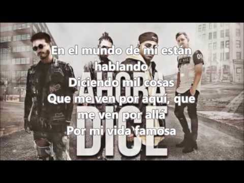 Ahora dice  J Balvin  lyrics ft Arcangel, Ozuna  prod  Chris Jeday