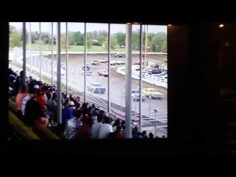 Receing at Beatrice Speedway