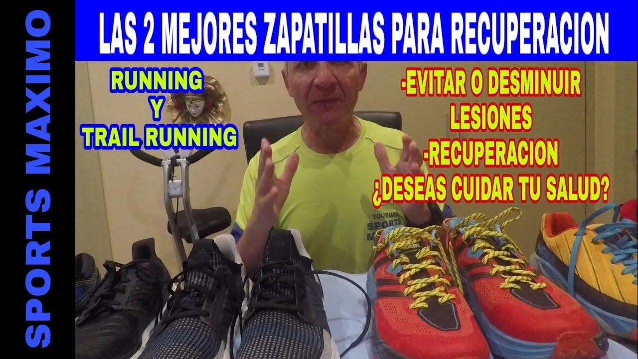 Running 2 Con Trail las Para Mejores Recuperacion Running Zapatillas b7Yy6vfg