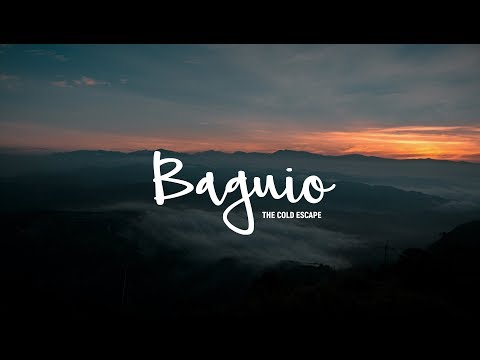 The Cold Escape - Destination Baguio City