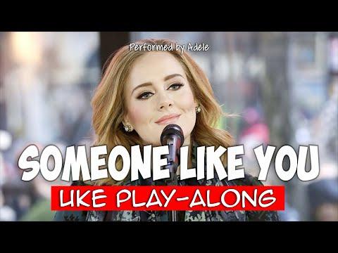 Someone Like You G Ukulele Play Along Youtube