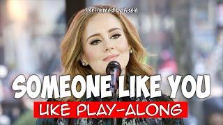 Someone Like You - G (ukulele play-along)
