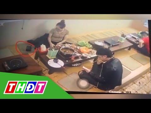 Cô Gái Dùng áo Khoác Trộm Bóp Tiền | THDT