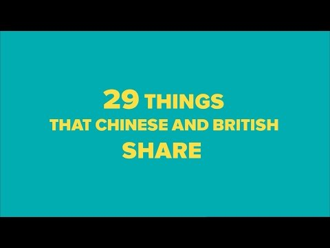 Things that Chinese and British share