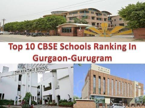 Top 10 CBSE Schools Ranking In Gurgaon-Gurugram