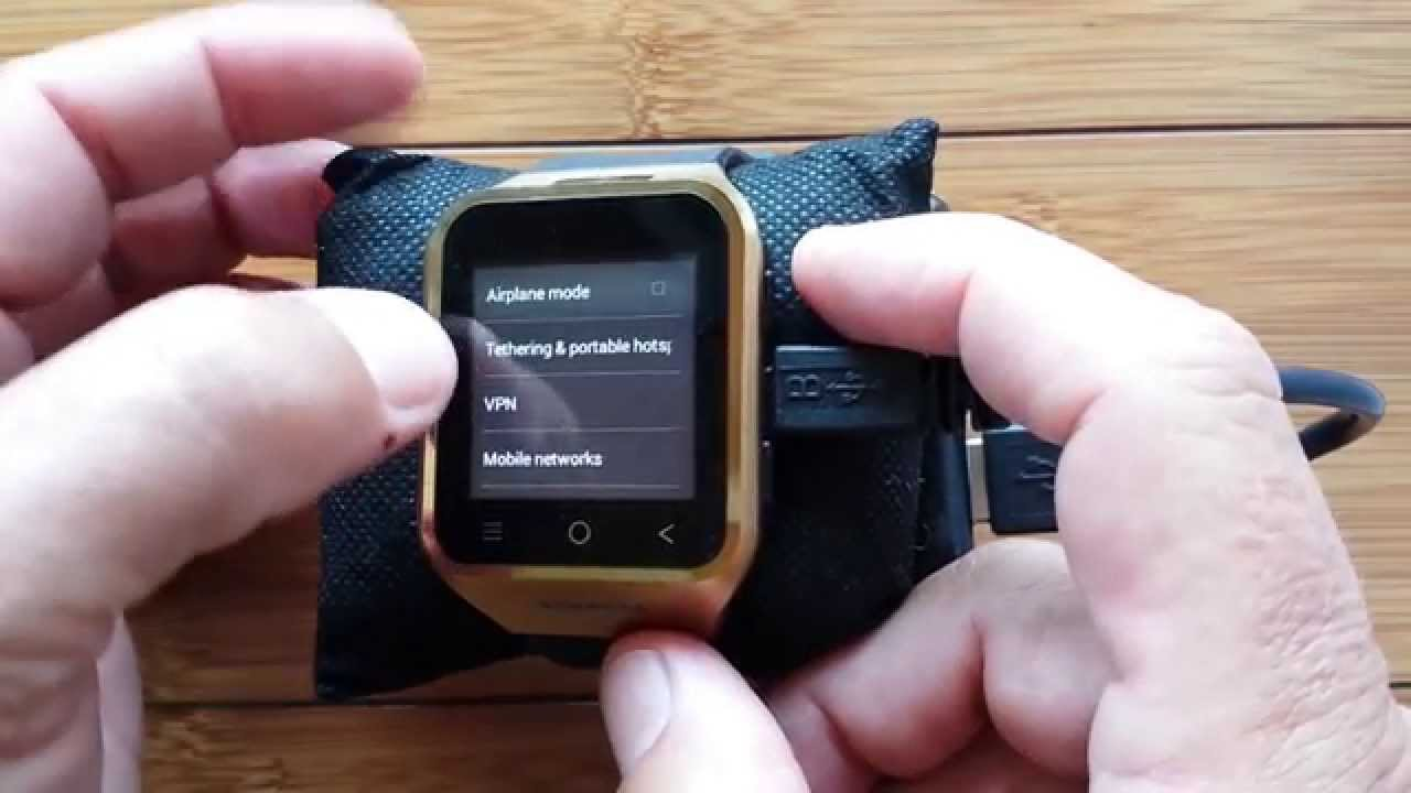 How To Turn Your Smartwatch Into A WiFi HotSpot - YouTube 1c1e9d4a6a