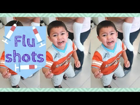 The time we all got our flu shots! You'll never...