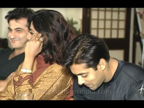 Salman Khan, Shilpa Shetty And Sanjay Kapoor At The Music Release Of Auzaar