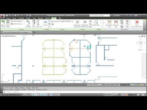 AutoCAD Architecture 2014: Creating Renovation Drawings