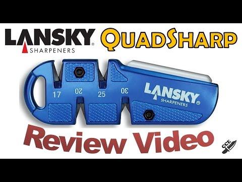 Review of the Lansky QuadSharp. Part# QSHARP - Part 1 of a 2 Part Lansky Saturday Special